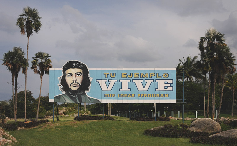The Che Guevara sign